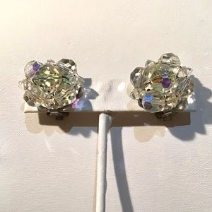 🎁Vintage Iridescent Crystal Earrings